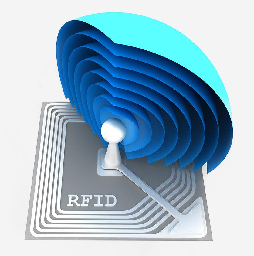 vantaggi di Tag RFID SAW
